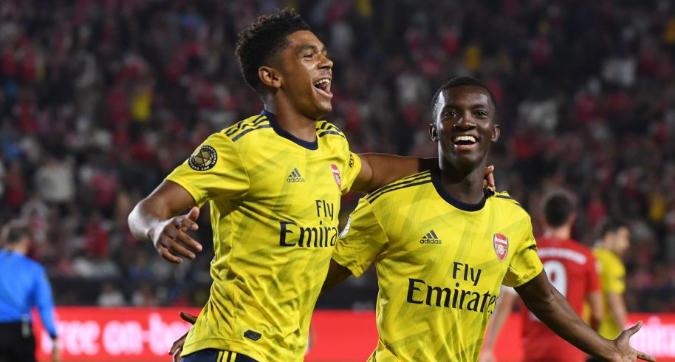 ICC, Arsenal-Bayern 2-1