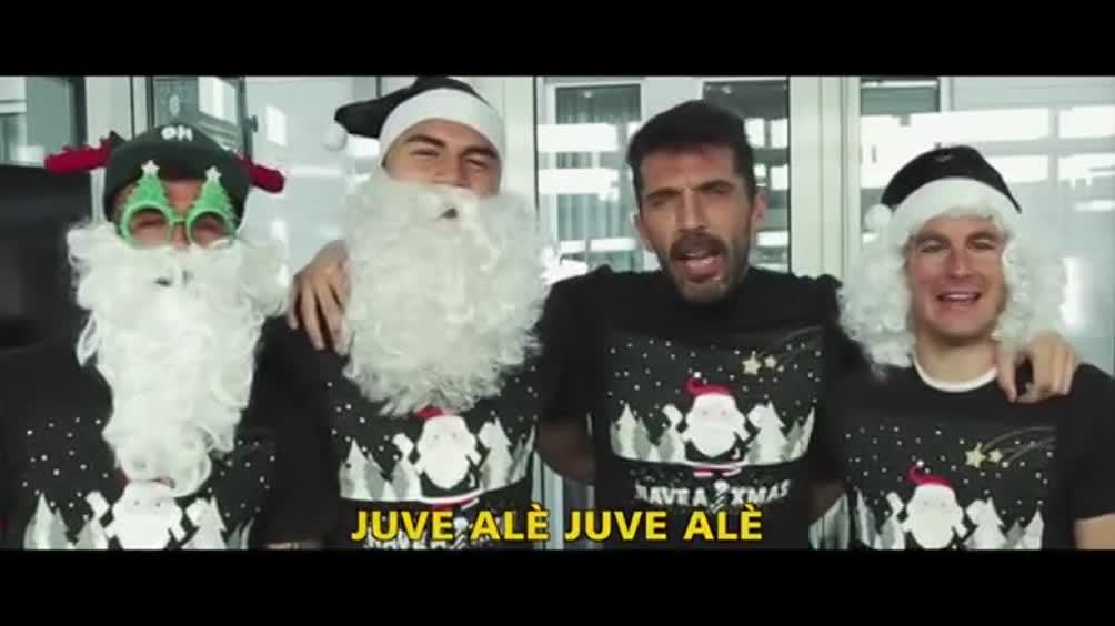 Auguri Di Buon Natale Juve.La Juve Fa Gli Auguri Sportmediaset