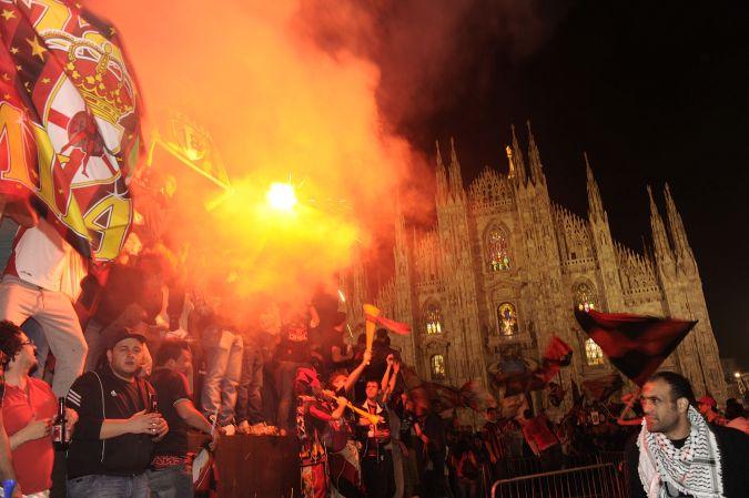 Milano in rossonero