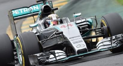 Mercedes Hamilton AFP