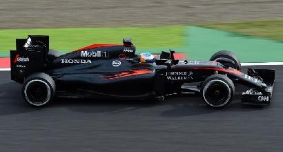 """F1, Alonso si sfoga in diretta: """"Abbiamo un motore da GP2"""""""