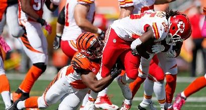 Nfl: volano i Bengals e Broncos, cade Arizona