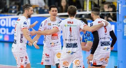 Volley, Champions: Lube ai Playoff 6, sconfitta indolore col Belchatow