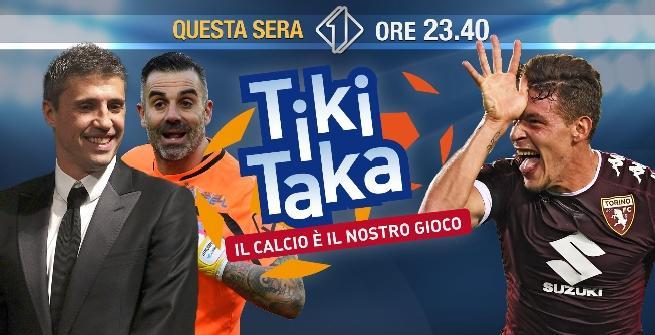Tiki Taka: ospiti d'eccezione Belotti, Sorrentino e Crespo