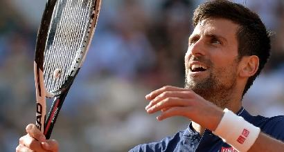 Tennis, Djokovic in semifinale