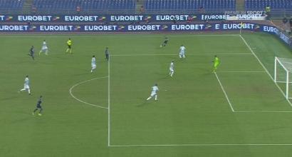 Napoli, Mertens alla Maradona: gol in pallonetto come Diego