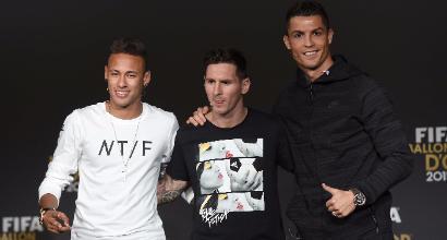 Cristiano Ronaldo in arrivo il 5° Pallone d'oro come Messi