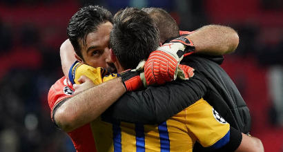 Champions, la Juventus sbanca Wembley e vola nei quarti di finale