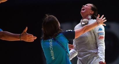 Scherma, Mondiali: Volpi d'oro ed Errigo di bronzo nel fioretto donne