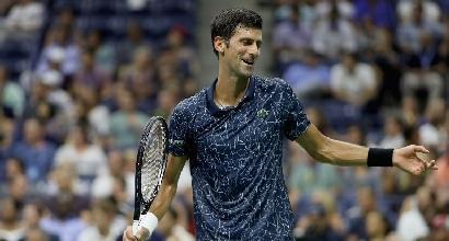 Us Open: Djokovic e Cilic in scioltezza, fuori la Wozniacki