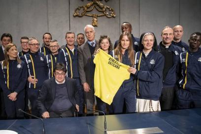 Athletica Vaticana, quando la corsa è una religione