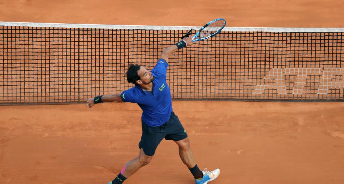 Tennis: Fognini e Sonego da urlo