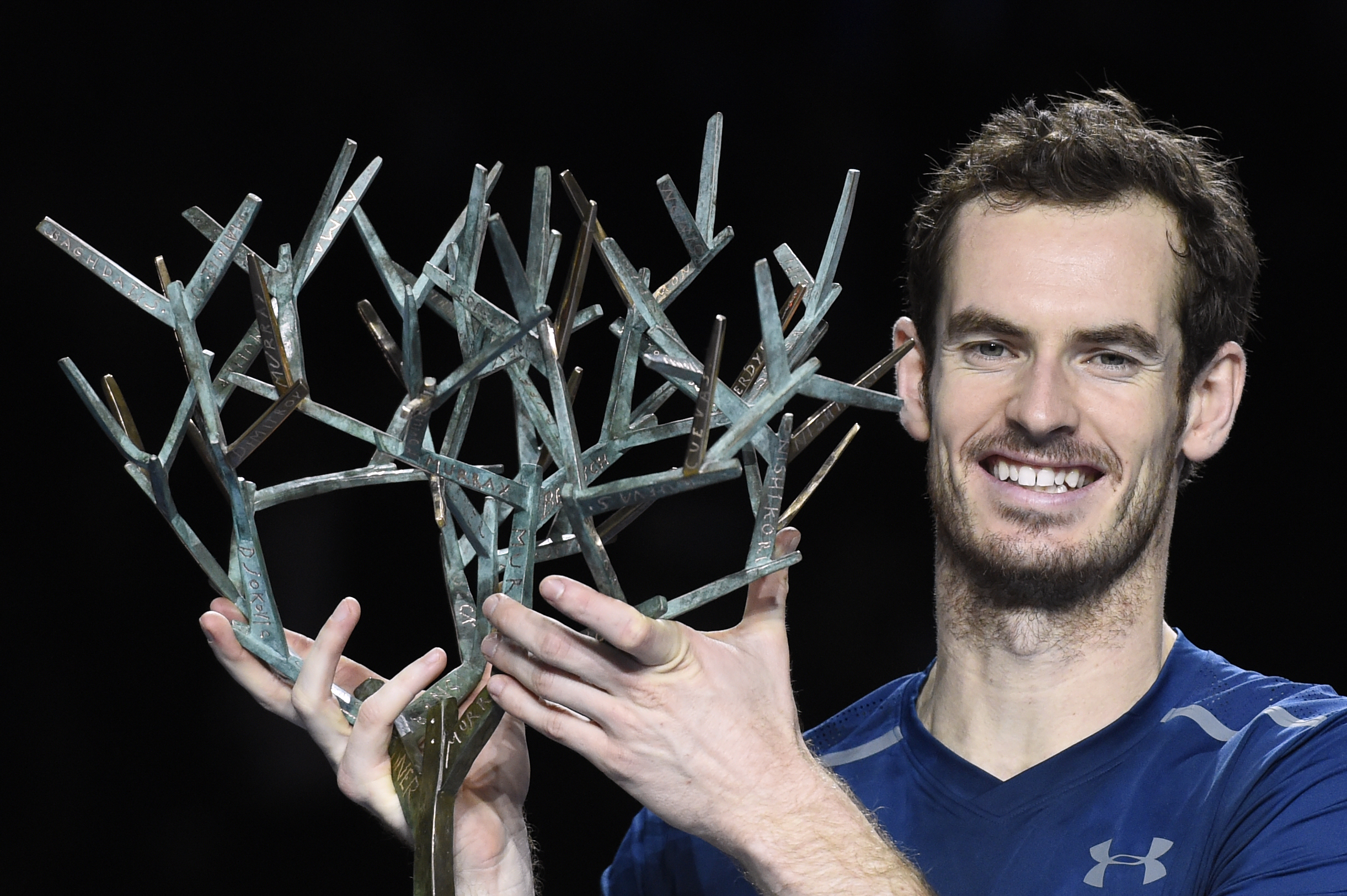 Tennis, Murray trionfa a Parigi-Bercy