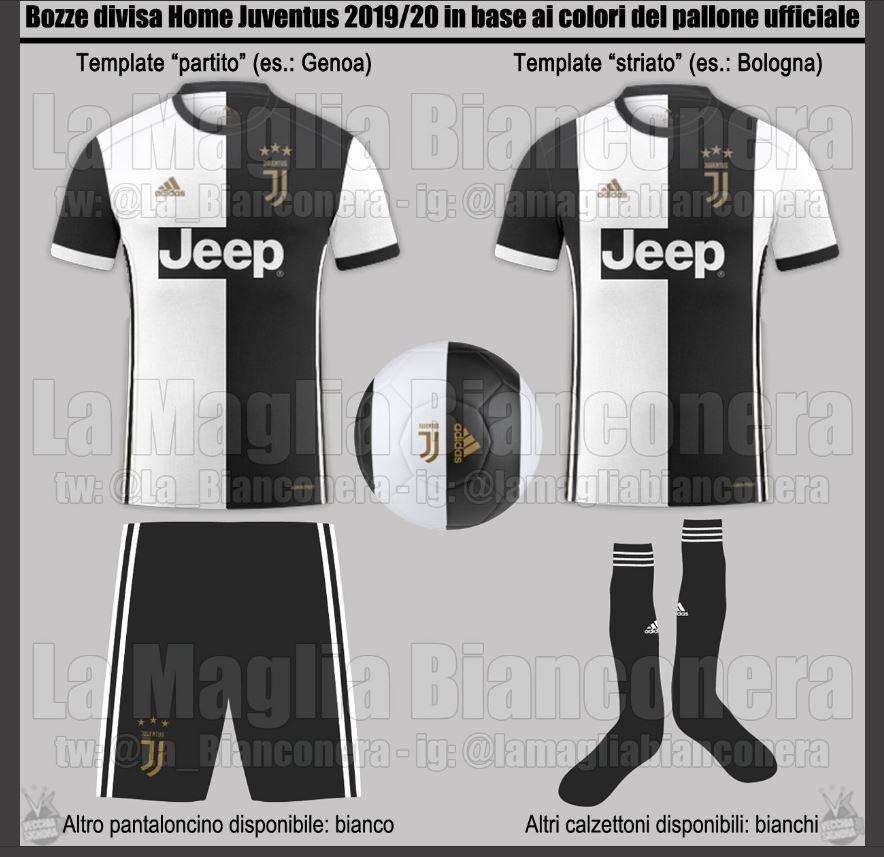 Juventus, ecco le maglie per la prossima stagione