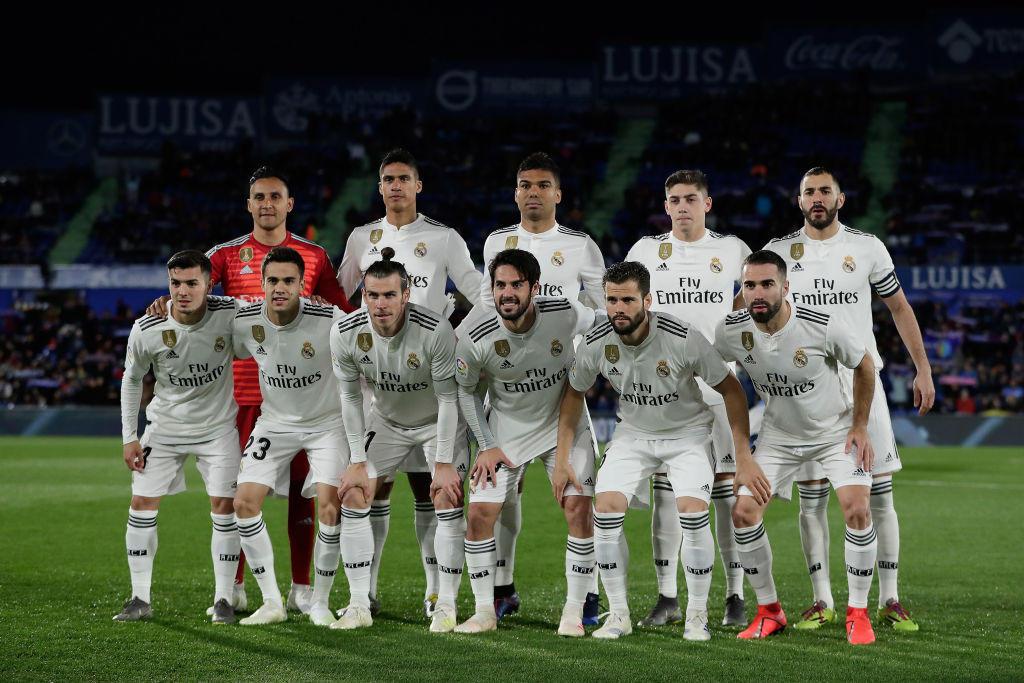 Real Madrid brand al top