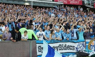 I tifosi del Sydney sugli spalti