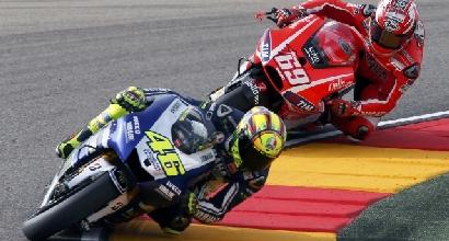 Rossi e Hayden foto Yamaha