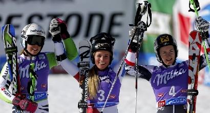Sci: la svizzera Gut parte vincendo a Soelden