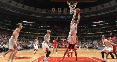 Noah contro Houston (Afp)