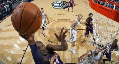 Nba: Davis stende i Lakers, Gallinari ko coi Blazers