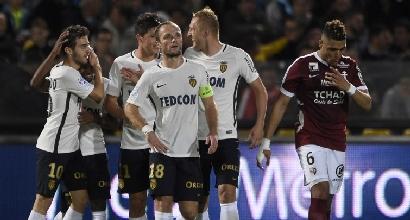 Ligue: Monaco ne fa 7 al Metz, è primo