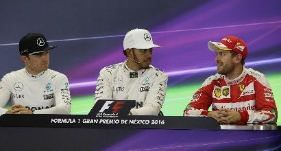 """Rosberg: """"Vettel è più forte mentalmente di Hamilton"""""""