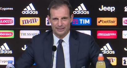 """Bologna-Juve, Allegri in conferenza: """"Dybala? Difficile che giochi"""""""