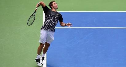 Us Open: Wawrinka stende Dimitrov, avanza Murray