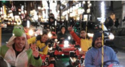 Wec, Alonso e Buemi sui kart... vestiti come i personaggi di Winnie The Pooh