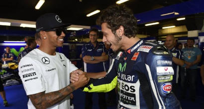 """Hamilton accetta l'invito di Rossi: """"Sarò al Ranch il prima possibile"""""""