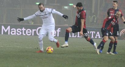 Milan, no Pipita no... Champions: Higuain a secco da ottobre, così è difficile difendere il quarto posto