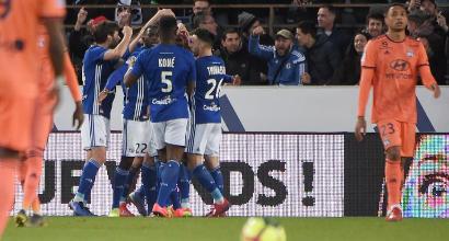 Ligue 1: due gol in un minuto, Lione ripreso a Strasburgo