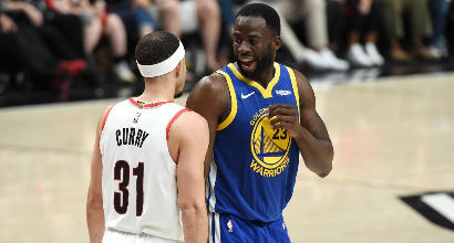 Nba, playoff: Golden State a un passo dalle Finals, 110-99 in gara-3 a Portland