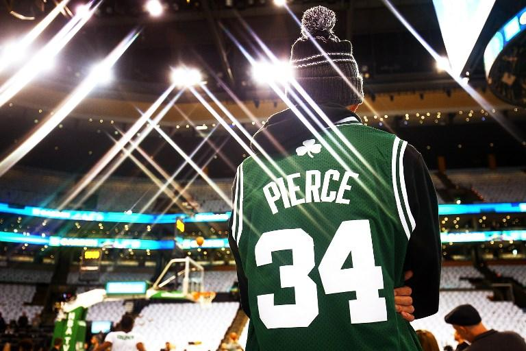 Celtics, omaggio a Pierce
