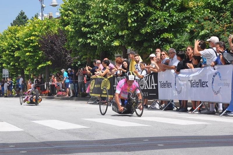 Giro d'Italia Handbike 2018, quarta tappa a Roccaraso: le foto