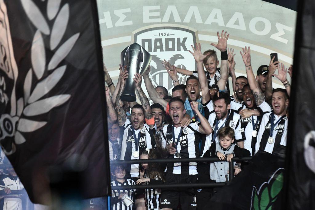 Grecia, Paok campione: che festa a Salonicco