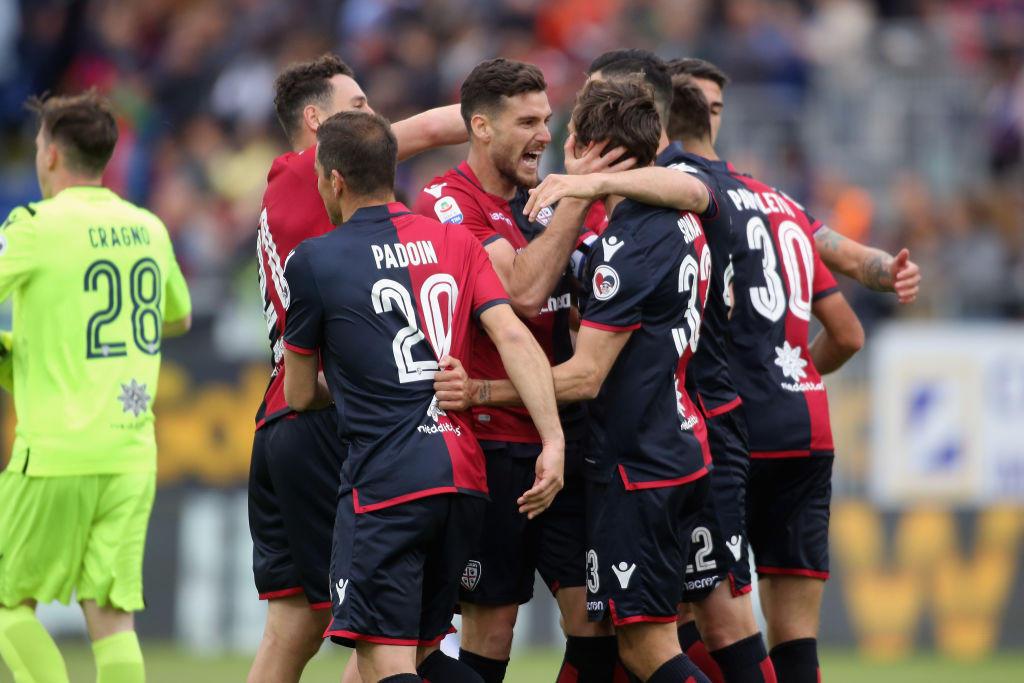 Cagliari 40 (+8 rispetto al 2017/18)