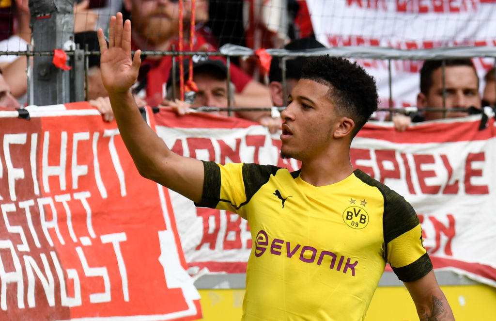 LA TOP TEN - 1) Sancho (Borussia Dortmund)