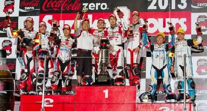 Il podio foto facebook Suzuka Circuit)