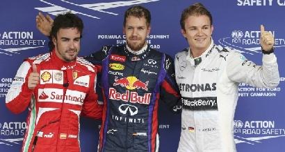Alonso, Vettel e Rosberg (Reuters)