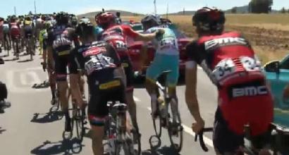 Caduta alla Vuelta, foto IPP