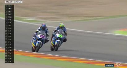 Moto2, Aragon: fuga e vittoria per Sam Lowes