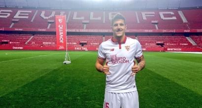 Jovetic, foto Twitter Siviglia