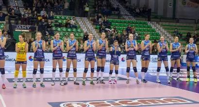 Volley, Champions donne:vola Modena