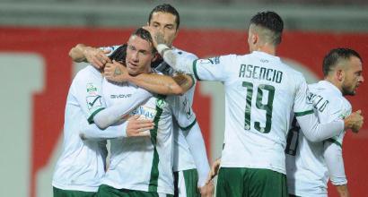 Serie B: Cerri risponde ad Ardemagni, 1-1 tra Perugia e Avellino