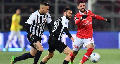 Serie B: il Perugia batte in extremis l'Ascoli