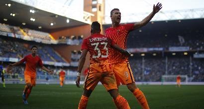 Roma, offerta Chelsea per Dzeko