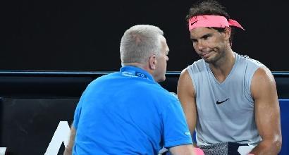 Australian Open: Nadal si fa male e si ritira, Cilic in semifinale