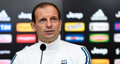 """Juve-Atalanta, Allegri in conferenza: """"Il Napoli non mollerà, quota 100 punti"""""""