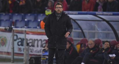 """Roma, Di Francesco: """"Abbiamo giocato da uomini veri"""""""
